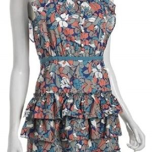 Marc by Marc Jacobs Floating Lotus Ruffle Dress